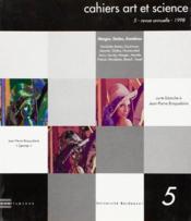 Cahiers Art Et Science 5 - Couverture - Format classique