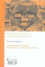 Le Social Et Le Sensible - Intérieur - Format classique