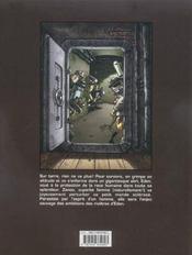 Eden T.1 ; La Descente De Zanoo - 4ème de couverture - Format classique
