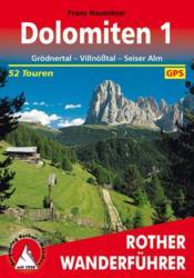 Dolomiten 1 (Allemand)Grodnertal - Couverture - Format classique