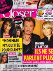 Closer N°229 du 31/10/2009 - Couverture - Format classique