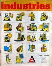 Industries Et Techniques N°21 du 10/01/1972 - Couverture - Format classique