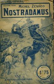 Nostradamus. Collection Le Livre Populaire N° 45 Bis. - Couverture - Format classique