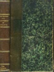 FANTÔMES ET VIVANTS. Souvenirs des milieux littéraires, politiques, artistiques et médicaux de 1880 à 1905. - Couverture - Format classique