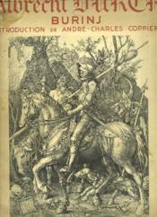 Albrecht Dürer. Burins. - Couverture - Format classique