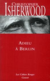 Adieu à Berlin - Couverture - Format classique