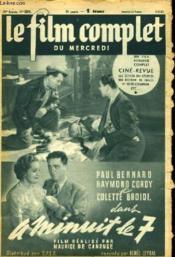 Le Film Complet Du Mercredi N° 2521 - 20e Annee - A Minuit Le 7 - Couverture - Format classique