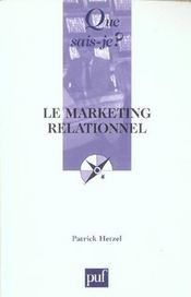 Vente livre :  Le marketing relationnel  - Patrick Hetzel