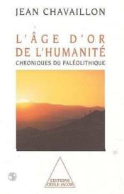 L'Age D'Or De L'Humanite - Couverture - Format classique