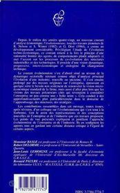 Approches Evolutionnistes De La Firme Et De L'Industrie ; Theorie Et Analyses Empiriques - 4ème de couverture - Format classique