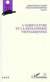 L'agriculture et la paysannerie vietnamiennes - Intérieur - Format classique