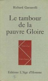 Le Tambour De La Pauvre Gloire - Couverture - Format classique