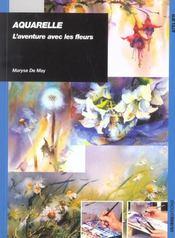 Aquarelle Aventure Avec Les Fleurs - Intérieur - Format classique