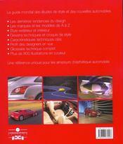 L'annuel du design automobile 2003 ; le guide mondial des etudes de style et des nouvelles automobiles - 4ème de couverture - Format classique
