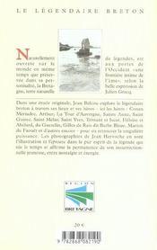 Legendaire Breton (Le) - 4ème de couverture - Format classique