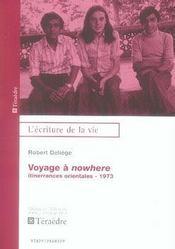 Voyage a nowhere - Intérieur - Format classique