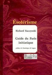 Guide du Paris initiatique - Couverture - Format classique