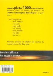 1000 Trucs Et Astuces - 4ème de couverture - Format classique