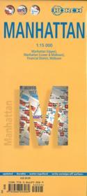 Manhattan (édition 2007) ; Manhattan (upper), Manhattan (lower & midtown), financial district, midtown - 4ème de couverture - Format classique