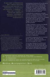 Programmes EIS évaluation, intervention et suivi auprès des jeunes enfants de 0 à 6 ans t.1 ; guide d'utilisation et tests (0 à 6 ans) - 4ème de couverture - Format classique