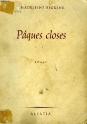Paques Closes - Couverture - Format classique