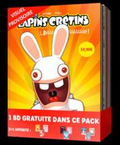 The Lapins crétins ; COFFRET VOL.1 ; T.1 A T.3  - Thitaume - Romain Pujol