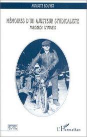 Memoires D'Un Ajusteur Syndicaliste - Intérieur - Format classique