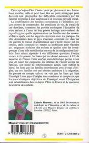 Familles Comoriennes Face Au College ; Entre L'Ecole Et La Tradition - 4ème de couverture - Format classique