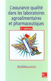 L'assurance qualité dans les laboratoires agroalimentaires et pharmaceutiques (2e édition) - Intérieur - Format classique