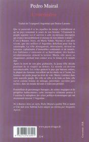 L'intempérie - 4ème de couverture - Format classique