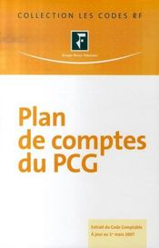 Plan de comptes du pcg (édition 2007) - Intérieur - Format classique