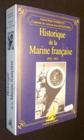 Historique marine francaise 22/42 - Couverture - Format classique