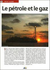 Le pétrole et le gaz - Intérieur - Format classique