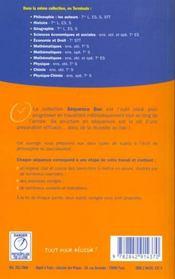 Philosophie ; terminales series generales et technologiques ; la dissertation ; le commentaire de texte - 4ème de couverture - Format classique