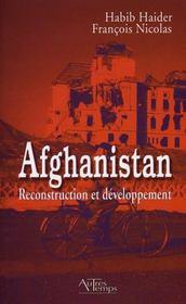 Afghanistan, reconstruction et développement - Intérieur - Format classique