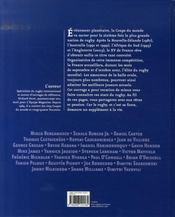 Les stars de la coupe du monde de rugby 2007 - 4ème de couverture - Format classique