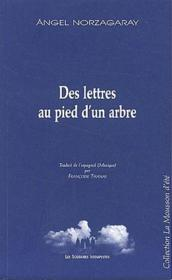Des lettres au pied d'un arbre - Couverture - Format classique