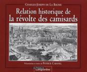Relation historique de la révolte des camisards - Couverture - Format classique