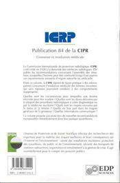 Grossesse Et Irradiation Medicale - 4ème de couverture - Format classique