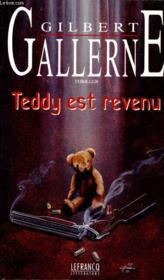 Teddy Est Revenu - Couverture - Format classique