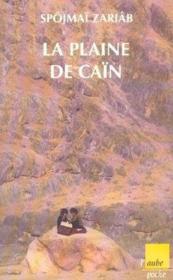 La plaine de Caïn - Couverture - Format classique
