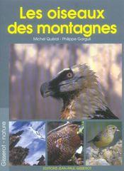 Les Oiseaux Des Montagnes - Intérieur - Format classique