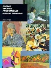 Espace Volume Profondeur - Couverture - Format classique