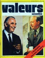 Valeurs Actuelles N°1835 du 31/01/1972 - Couverture - Format classique