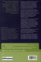 Programmes EIS évaluation, intervention et suivi auprès des jeunes enfants de 0 à 6 ans t.2 ; programme d'intervention (0 à 3 ans) - 4ème de couverture - Format classique