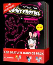 The Lapins crétins ; COFFRET VOL.1 ; T.4 A T.6  - Thitaume - Romain Pujol