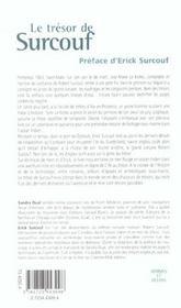 Le Tresor De Surcouf - 4ème de couverture - Format classique