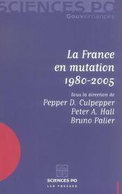La France en mutation 1980-2005 - Intérieur - Format classique