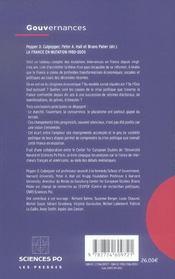 La France en mutation 1980-2005 - 4ème de couverture - Format classique