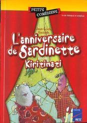 L'anniversaire de Sardinette ; Kiritimati ; 6/8 ans - Intérieur - Format classique